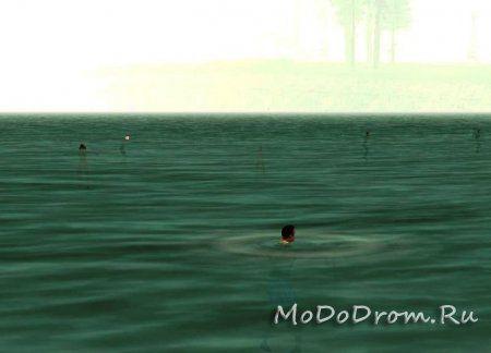 Люди умеют плавать в Gta San Andreas