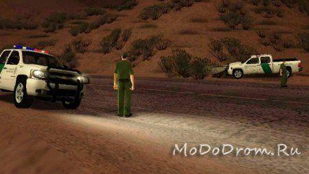 Пограничники в Gta San Andreas
