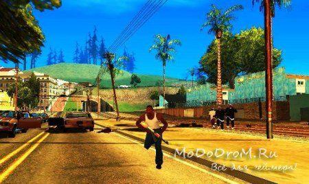 Gta San Andreas новые анимации