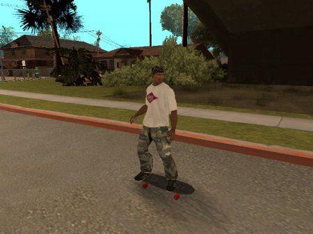 Скейтборд для gta san andreas