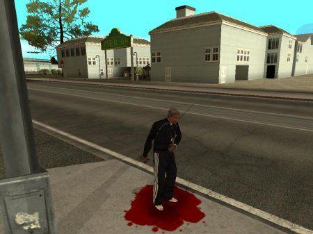 Реалистическая смерть в gta san andreas