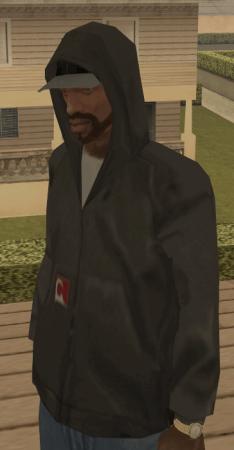 Одевать капюшон в gta san andreas