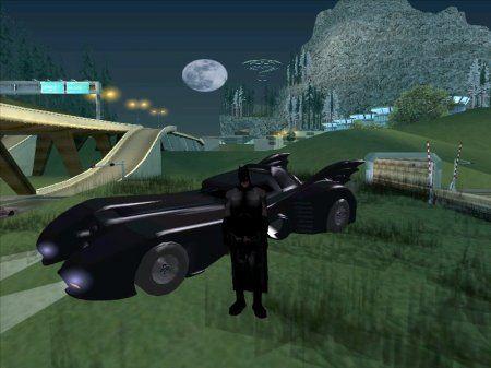Бэтмен в Gta San Andreas