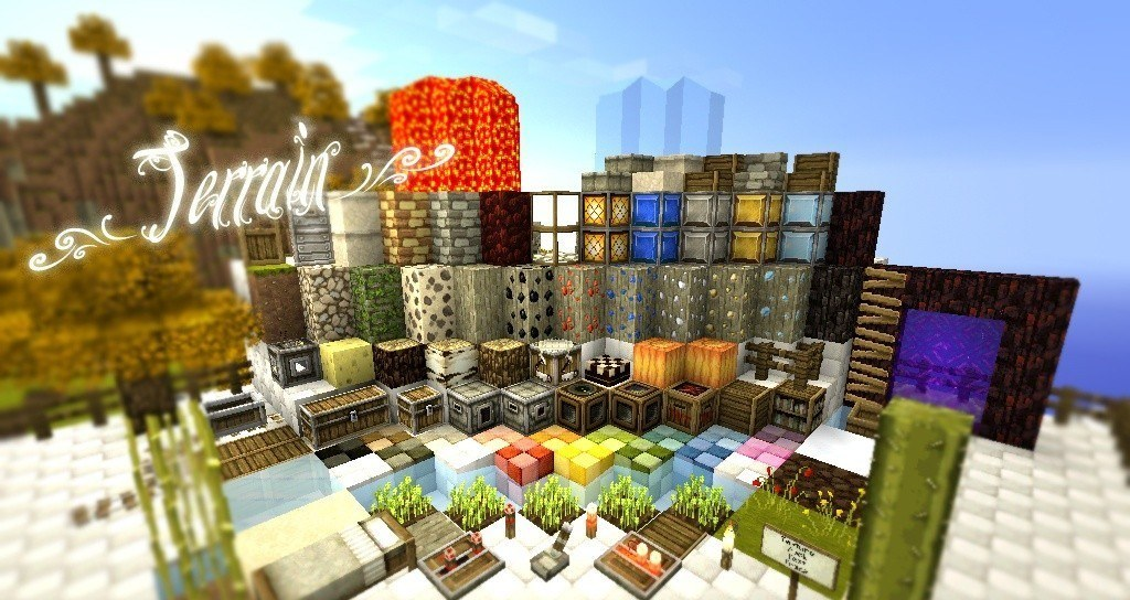 Скачать текстуры SummerFields для Minecraft 1.7.4: mododrom.ru/minecraft/tekstury-dlja-minecraft/308-tekstur-pak...