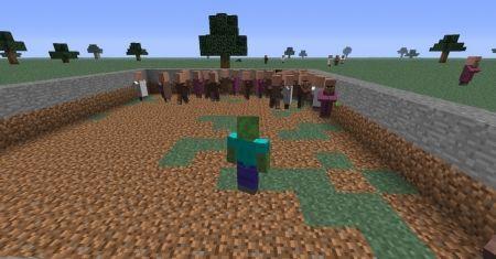 Как стать зомби в Minecraft 1.7.10 1.8 1.7.2 1.6.4 1.5.2