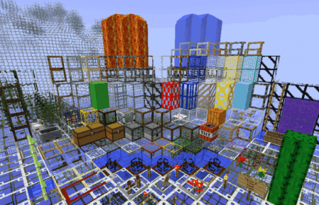 Читерские текстуры для Minecraft