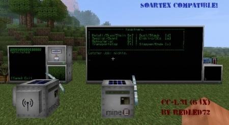 Мод Computercraft для Minecraft 1.7.10 1.7.4 1.7.2 1.6.4 1.6.2 1.5.2