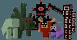 каталог злых монстров в Minecraft моде DivineRPG