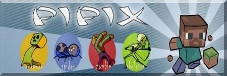 Скачать Pipix для Minecraft 1.7.10 1.8 1.7.2 1.6.4 1.5.2