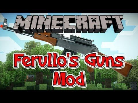 Guns mod для minecraft 1 7 10 1 7 4 1 7 2 1 6 4 1 6 2 1 5 2