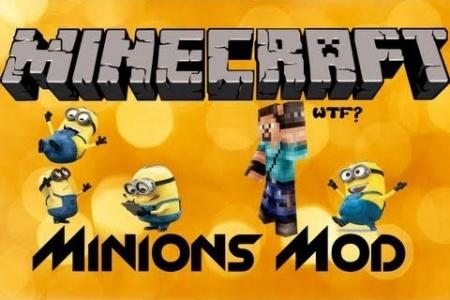Minions Mod для Minecraft 1.7.10 1.8 1.7.2 1.6.4 1.5.2