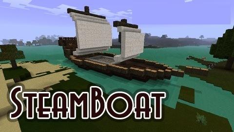 Steamboat mod для minecraft 1 7 10 1 8 1 7 2 1 6 4 1 5 2