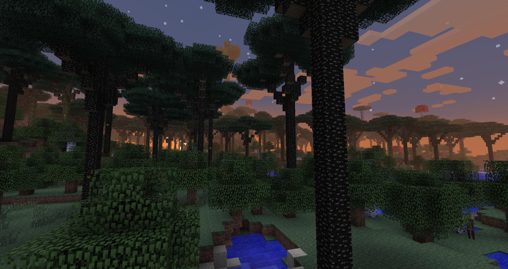 Скачать Minecraft с Модом Twilight Forest