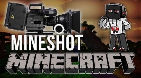 Mineshot mod для Minecraft 1.7.10 1.7.4 1.7.2 1.6.4 1.6.2 1.5.2