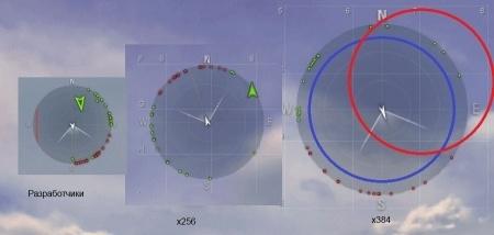 Увеличенный радар для World Of Warplanes 1.4.2