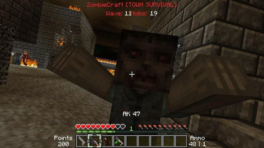 Zombiecraft для minecraft 1.6.4