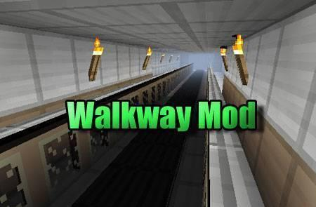 Walkway mod для Minecraft 1.7.10 1.8 1.7.2 1.6.4 1.5.2