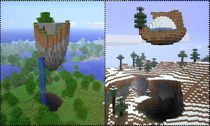 Floating ruins для minecraft 1 7 10 1 7 4 1 7 2 1 6 4 1 6 2 1 5 2