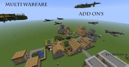 Aircraft mod для Minecraft 1.7.10 1.8 1.7.2 1.6.4 1.5.2