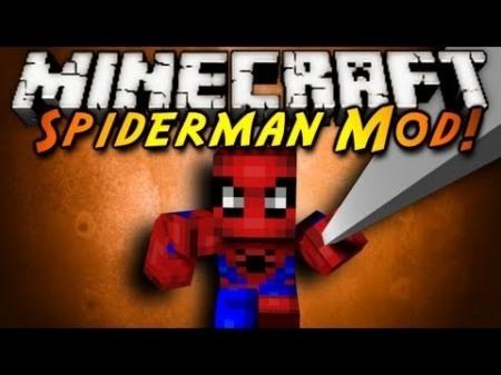 Spider Man mod для Minecraft 1.7.2