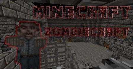 Скачать ZombieCraft для Minecraft 1.8 1.7.10 1.7.2 1.6.4 1.5.2