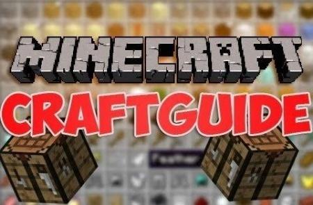 CraftGuide Mod для Minecraft 1.8 1.7.10 1.7.2 1.6.4 1.5.2