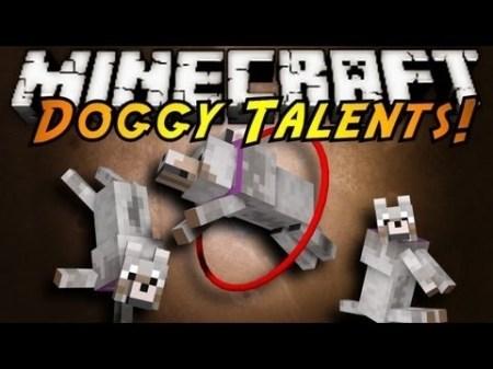 Doggy Talents mod для Minecraft 1.8 1.7.10 1.7.2 1.6.4 1.5.2