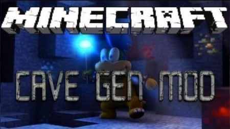 Cave Gen Mod для Minecraft 1.8 1.7.10 1.7.2 1.6.4 1.5.2