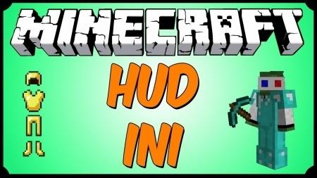 HUDini mod для Minecraft 1.8 1.7.10 1.7.2 1.6.4 1.5.2