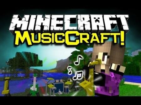 MusicCraft mod для Minecraft 1.7.10 1.8 1.7.2 1.6.4 1.5.2