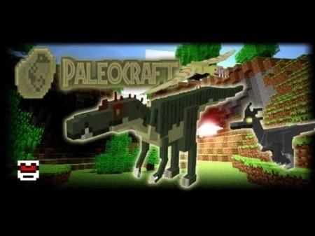 PaleoCraft mod для Minecraft 1.7.10 1.8 1.7.2 1.6.4 1.5.2