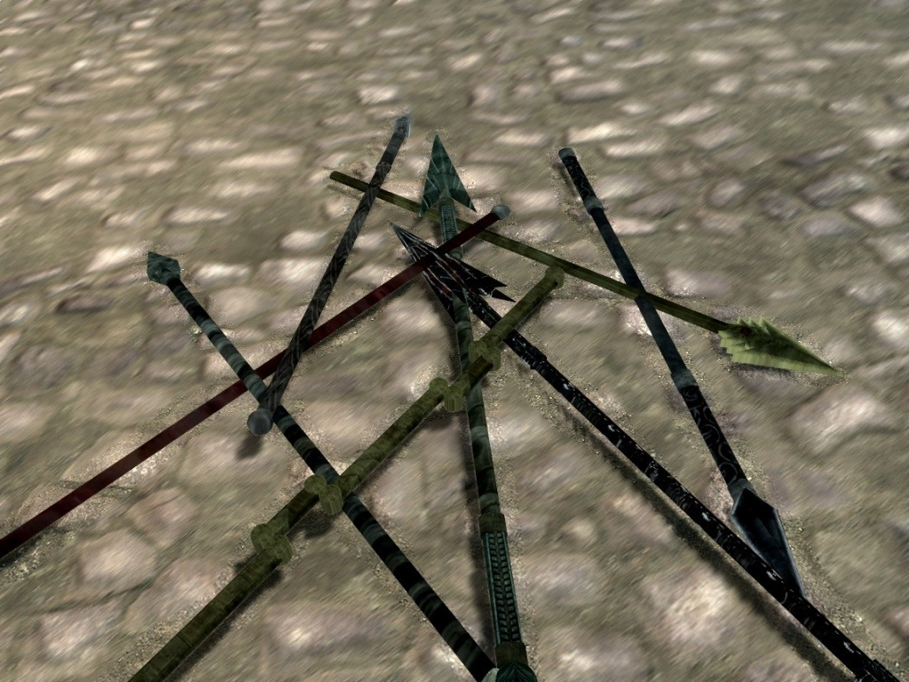 скайрим новая анимация для двуручных мечей