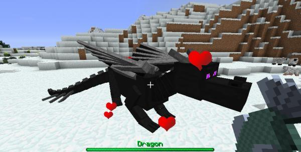 мод для майнкрафт 1.7.10 dragon mounts #8