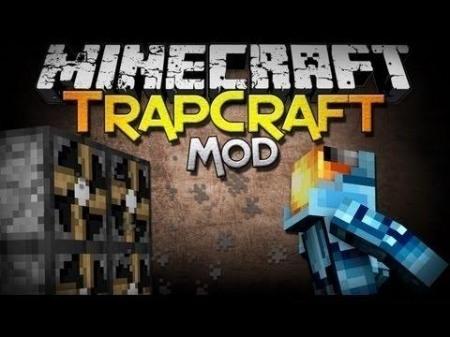 Trapcraft mod для Minecraft 1.7.10 1.7.4 1.7.2 1.6.4 1.6.2 1.5.2