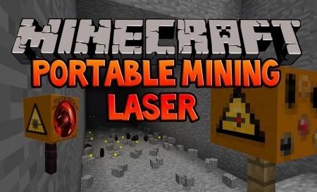 Portable Mining Laser ��� Minecraft 1.7.10 1.7.4 1.7.2 1.6.4 1.6.2 1.5.2