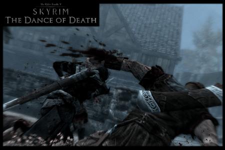 Мод танец смерти для Skyrim