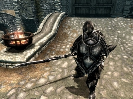 Мод на копья для Skyrim