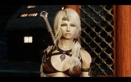 Красивые женские лица для Skyrim