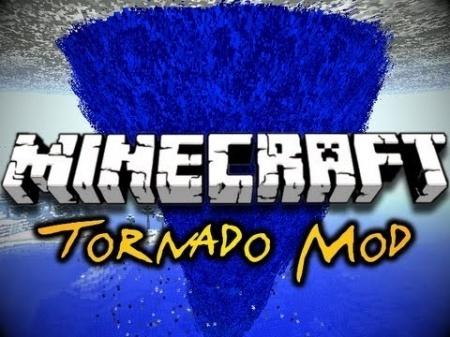 Мод на торнадо для Minecraft 1.7.10 1.7.4 1.7.2 1.6.4 1.6.2 1.5.2
