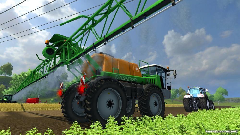 Симулятор тракториста 2013