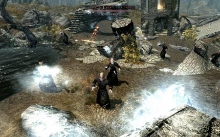Больше врагов для Skyrim