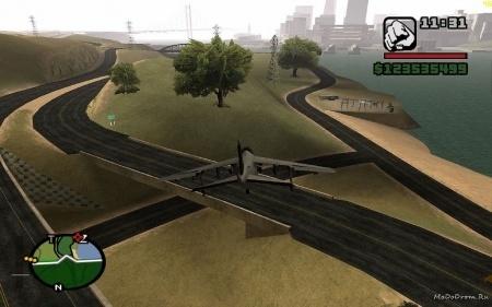 Новые дороги Gta San Andreas