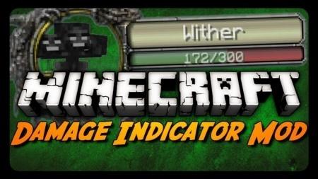 Скачать индикатор жизней для Minecraft 1.7.10 1.7.4 1.7.2 1.6.4 1.6.2 1.5.2