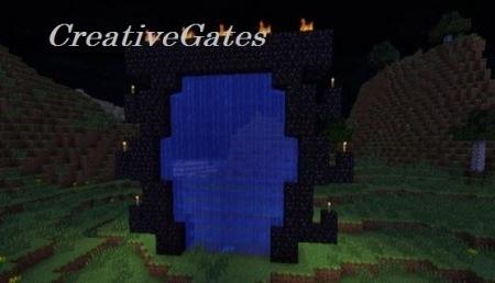 Скачать плагин CreativeGates для Minecraft 1.7.2 1.5.2