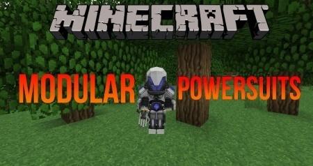 ������� ��� Modular Powersuits ��� Minecraft 1.9 1.8 1.8.9 1.7.10 1.6.4