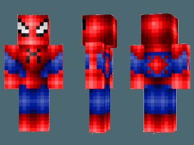 Скины человека паука для майнкрафт