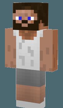 скачать скины для minecraft с бородой