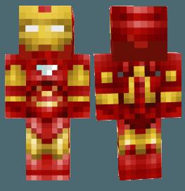 Скин Железного человека для Minecraft