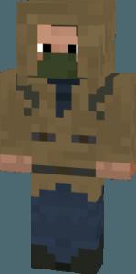 Скин Сталкера для Minecraft