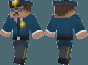 Скин полицейского для Minecraft